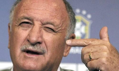 Luiz Felipe Scolari tức giận với lời ám chỉ của Van Gaal