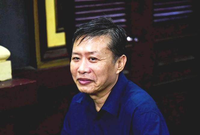 Nguyên trung tá công an Nguyễn Hồng Ánh. Ảnh: Tân Châu