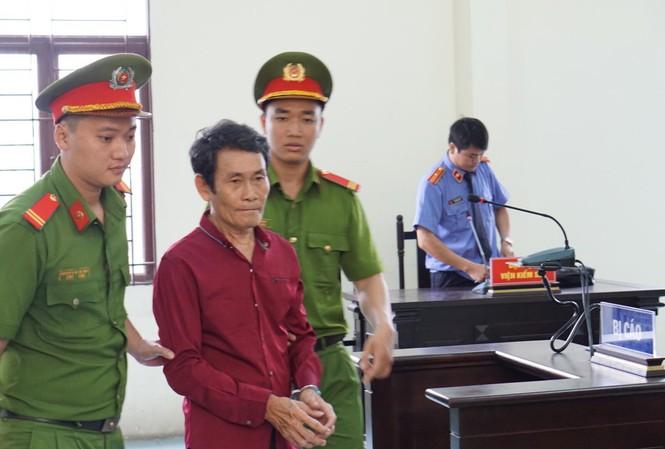 Ngô Ngọc An tại phiên xử trưa nay 26/8.