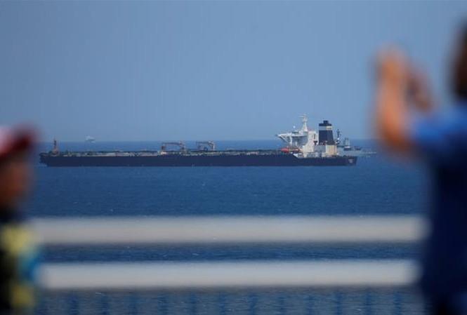 Vụ tịch thu tàu chở dầu Iran xảy ra vào thời điểm nhạy cảm với EU. (Ảnh: Reuters)