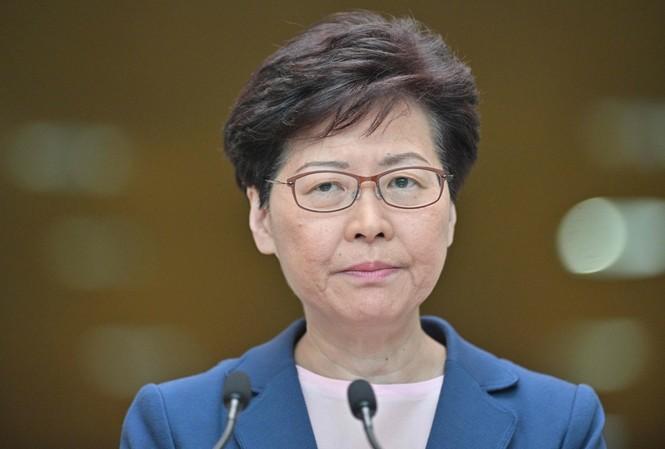 Trưởng đặc khu Hong Kong Carrie Lam. (Ảnh: SCMP)