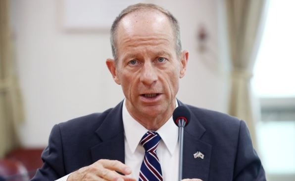 Trợ lý Ngoại trưởng Mỹ David Stilwell. (Ảnh: Yonhap)
