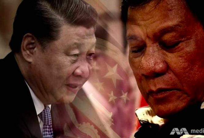 Chính sách Trung Quốc của Tổng thống Philippines Rodrigo Duterte được đánh giá là đã thất bại. (Ảnh: CNA)