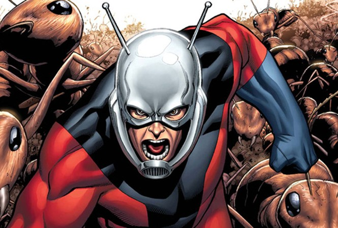 Người kiến trong truyện tranh của Marvel