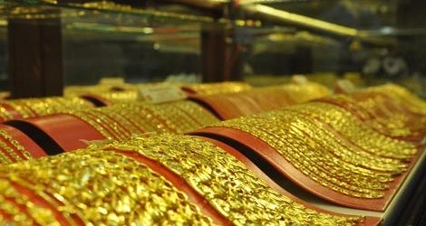 Giá vàng đang tiếp tục hưởng lợi từ việc Mỹ không kích Syria. Ảnh minh họa