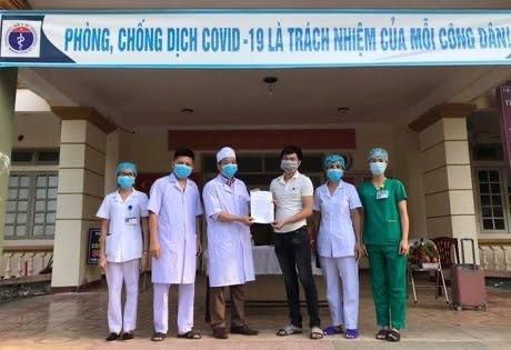 Bệnh nhân nhiễm COVID-19 cuối cùng ở Hà Tĩnh xuất viện