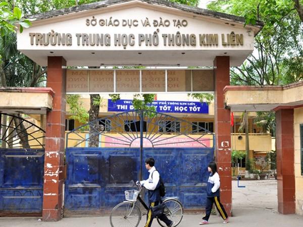 Trường THPT Kim Liên đang chuẩn bị điều kiện để  chuyển đổi sang mô hình chất lượng cao, tự chủ tài chính