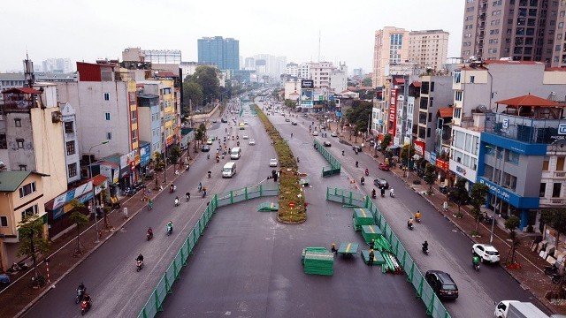 Dự án đường vành đai 2 thành phố Hà Nội. Ảnh minh họa