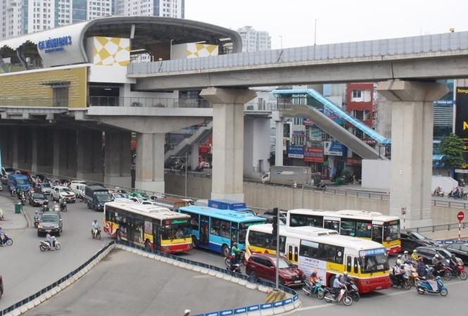 Đường Nguyễn Trãi – Hà Đông một trong những tuyến sẽ được tổ chức làn đường ưu tiên cho xe buýt. Ảnh: T.Đảng
