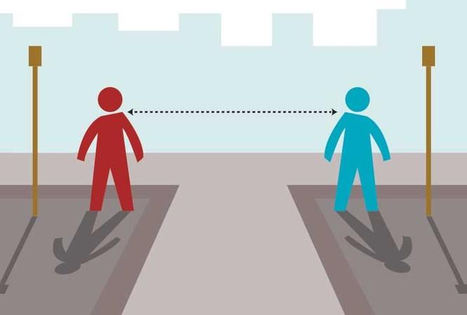 Ở bên cạnh nhau không có nghĩa là đứng sát vào nhau