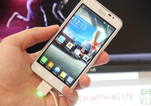 LG Optimus F5.