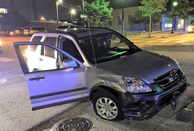 Chiếc Honda CR-V bị trộm. Ảnh: Facebook của Sở Cảnh Sát Greenville