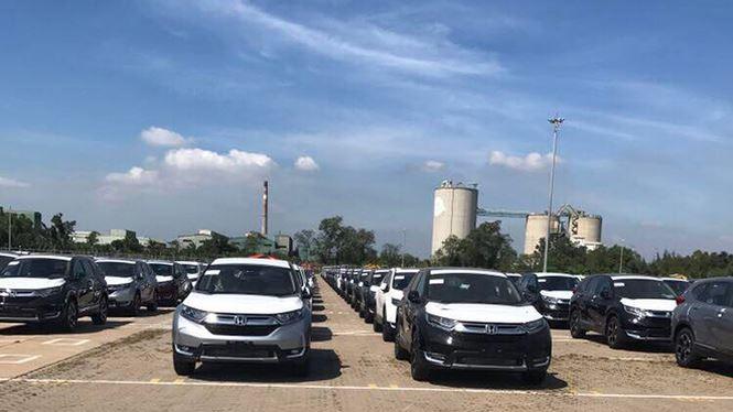 Lô Honda CR-V cập cảng Hiệp Phước tháng 12/2017