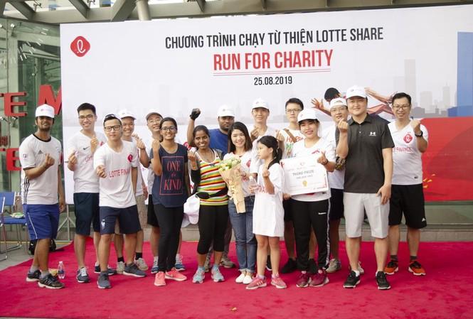 """LOTTE Finance – Một thành viên của Tập đoàn LOTTE tham gia hoạt động """"Chạy vì cộng đồng của Tập đoàn LOTTE"""""""