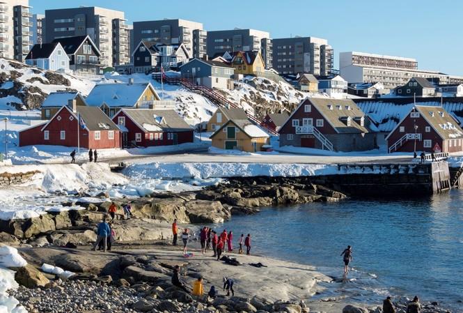 Greenland chỉ có 56.000 dân