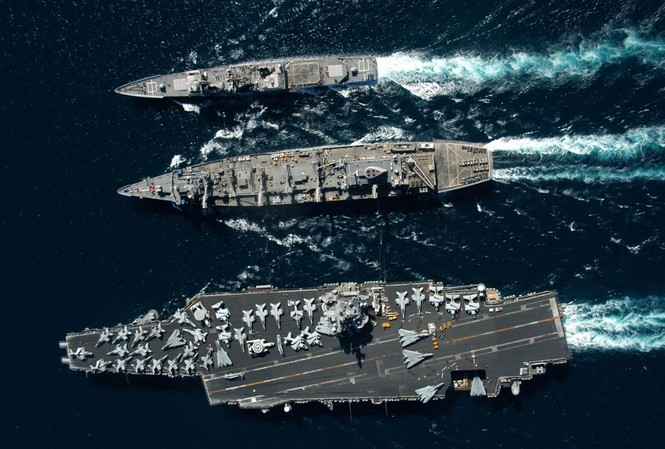 Một nhóm tàu sân bay của Mỹ