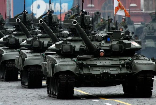 Xe tăng T-90 của lục quân Nga