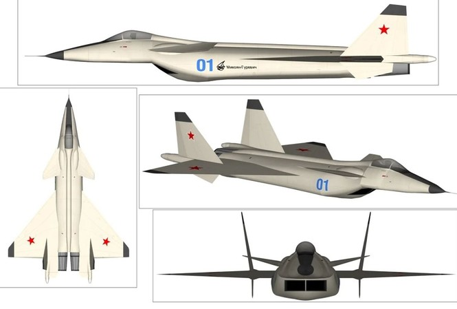 MiG 1.44, tiêm kích tàng hình yểu mệnh