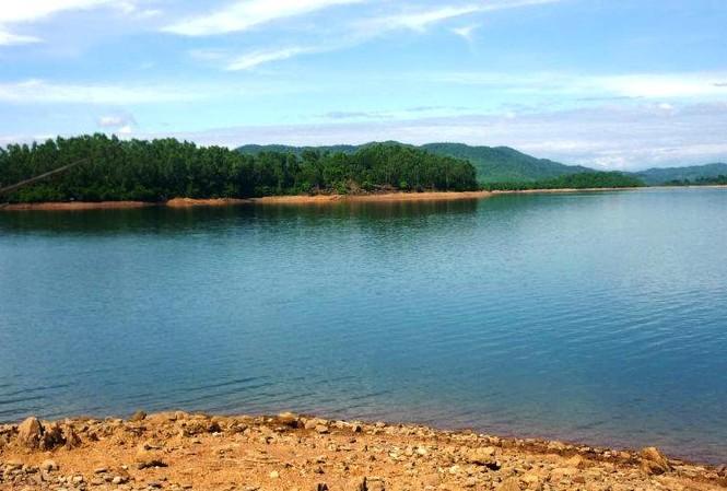 Hồ Phú Ninh nơi xảy ra sự việc