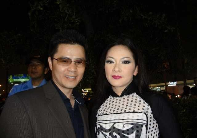 Như Quỳnh và chồng cũ Nguyễn Thắng