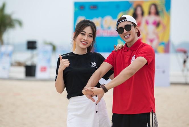 Á hậu Phương Nga đẹp đôi bên Bình An khiến thí sinh Miss World VN ngưỡng mộ