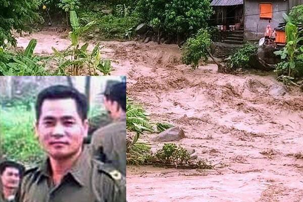 Liệt sĩ Thao Văn Súa, hy sinh khi đi nắm bắt tình hình mưa lũ trong cơn bão số 3. (Ảnh: Vietnamnet).