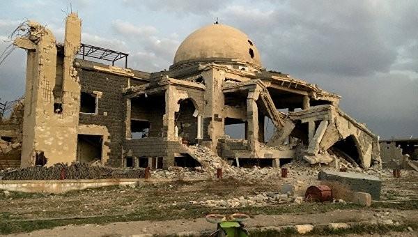 Xung đột tàn phá Syria. Ảnh: AP