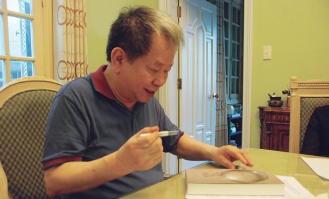 Chuyên gia Nguyễn Trần Bạt. Ảnh: Xuân Ba.