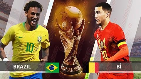 Brazil hay Bỉ sẽ đi tiếp?