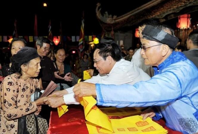 Chuẩn bị 40.000 ấn phát trong lễ hội Côn Sơn - Kiếp Bạc