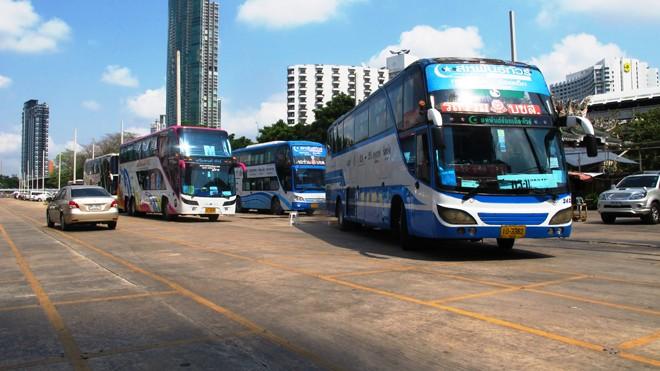 Các loại xe du lịch 2 tầng phổ biến tại Băng Cốc (Thái Lan). Ảnh: Bảo An