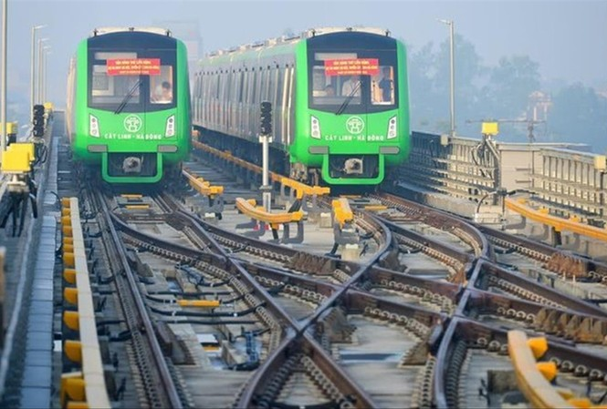 Sau nhiều lần lỗi hẹn, đường sắt Cát Linh - Hà Đông (Hà Nội) vẫn chưa vận hành chính thức