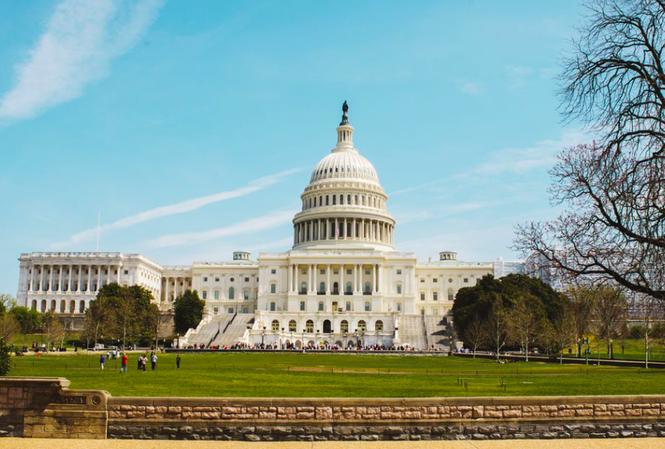 Trụ sở Quốc hội Mỹ ở Washington DC Ảnh: Reuters