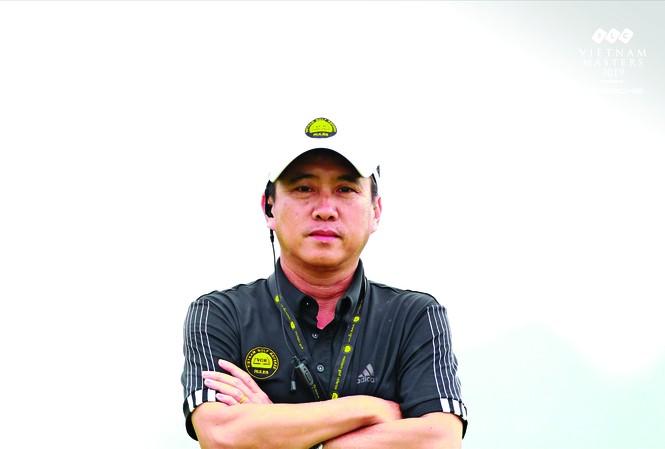 Ông Vũ Quân- Chủ tịch CLB Trọng tài golf Việt Nam là một trong 4 trọng tài R&A Level 3 Việt Nam đầu tiên