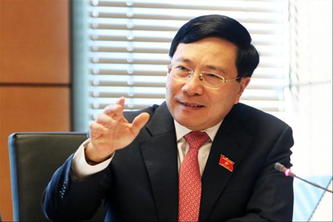 Theo Phó Thủ tướng Phạm Bình Minh, CPTPP cũng tạo ra sức ép đến ngành chăn nuôi, sản xuất giấy, thép... Ảnh: Như Ý