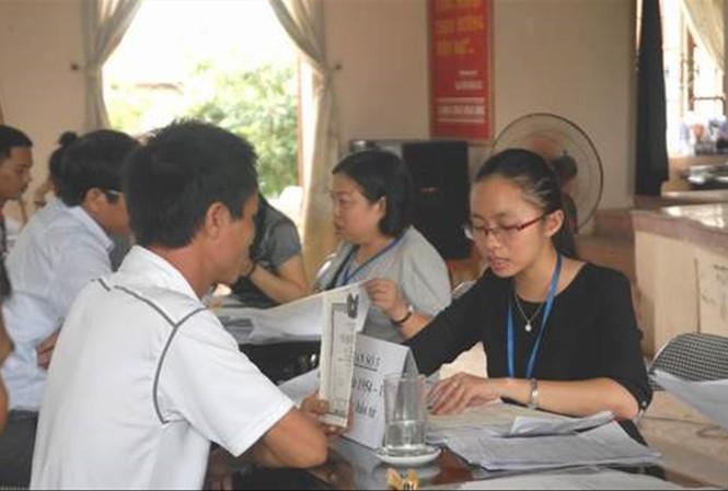 Hoạt động tư vấn cho thân nhân liệt sỹ được Trung tâm MARIN triển khai ở nhiều địa phương. Ảnh: Trung tâm MARIN