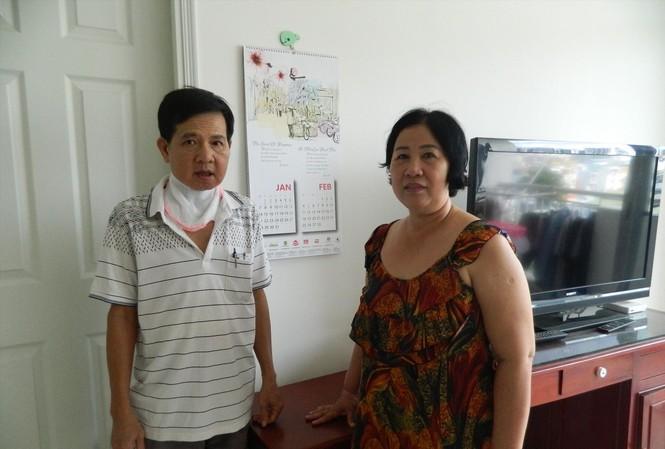 Người dân Thủ Thiêm tại khu tái định cư. Ảnh: Văn Minh