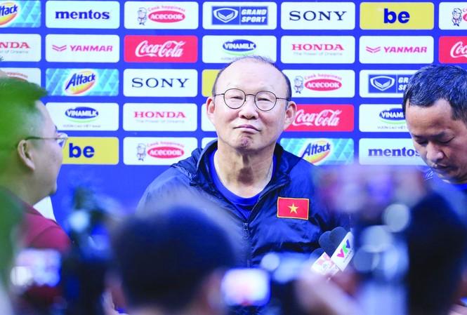HLV Park Hang Seo cho biết ông đang hạnh phúc với cuộc sống ở Việt Nam  ảnh: VSI