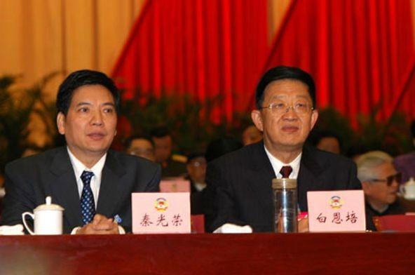 Tần Quang Vinh (trái) và Bạch Ân Bồi