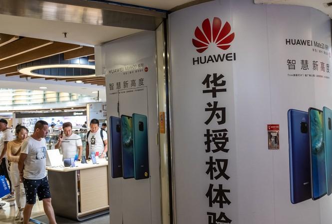 Google đã bắt đầu hạn chế cung cấp dịch vụ phần mềm cho Huawei sau lệnh cấm của chính phủ Mỹ. ảnh: New York Times