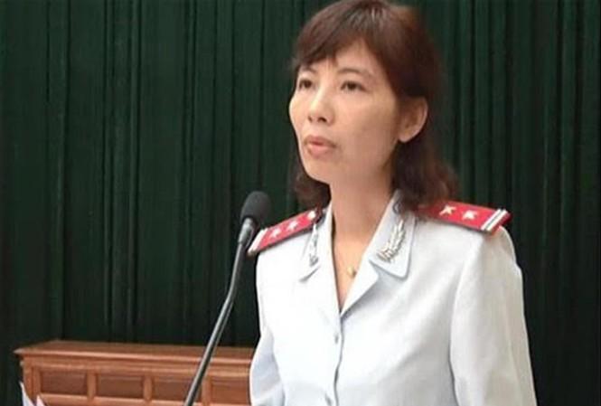 Trưởng đoàn thanh tra Nguyễn Thị Kim Anh