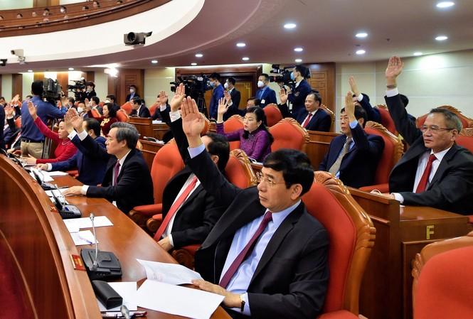 Các đại biểu tại Hội nghị Trung ương 14 ảnh: Đoàn Bắc