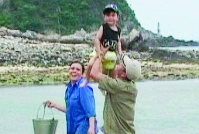 Gia đình duy nhất ở đảo Trần