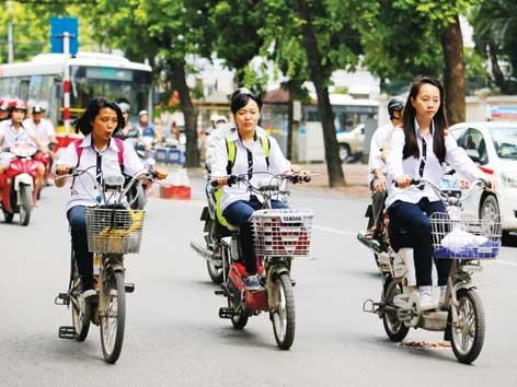 Sẽ cấp biển số xe đạp điện?