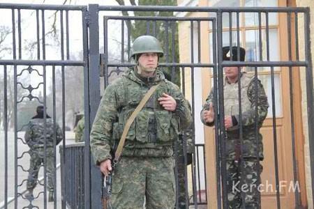 Dân mạng sửng sốt với trang bị của lính Nga ở Crimea