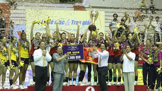 LienVietPostBank vô địch Cúp VTV Bình Điền