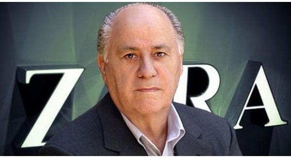 Tỷ phú Amancio Ortega – người sáng lập hãng thời trang Zara