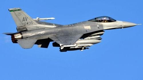 Chiến đấu cơ F-16 của Mỹ. Ảnh: CBS News.