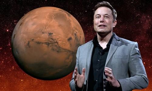 Tỷ phú Elon Musk cho rằng con người sẽ đặt chân lên sao Hỏa lần đầu tiên vào năm 2022. Ảnh: Business Insider.