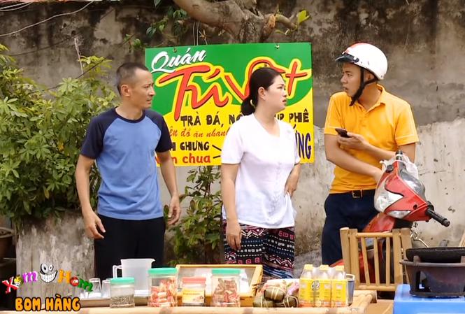 """Phú Chim gặp vợ chồng Tú Vịt phản ánh bị """"boom hàng"""""""